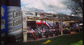 Muddy Creek team setup